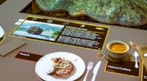 Regenwald-Verbrauchertisch